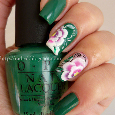 OPI Jade is the New Black Swatch by Radi Dimitrova