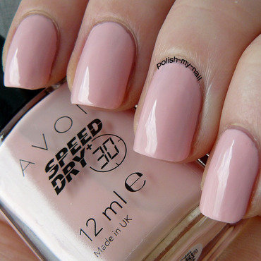 Avon On the go pink Swatch by Ewlyn