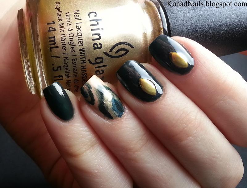 Ikat nails nail art by KonadAddict