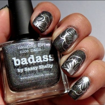 Picture Polish Badass nail art by CrazyPolishes (Dimpal)