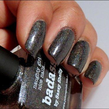 Black holographic polish thumb370f