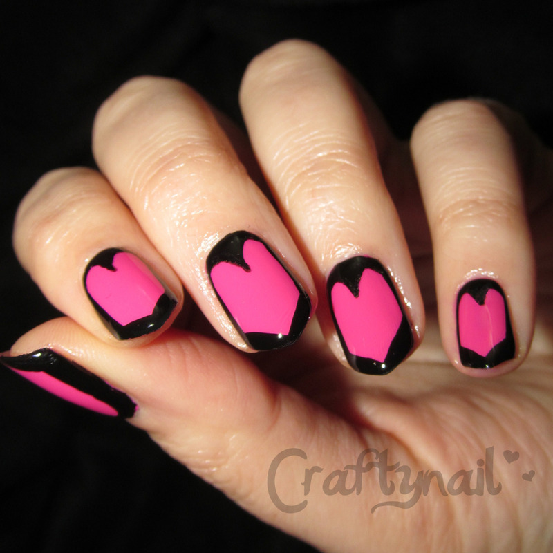 Love Shields nail art by Jacqui D.