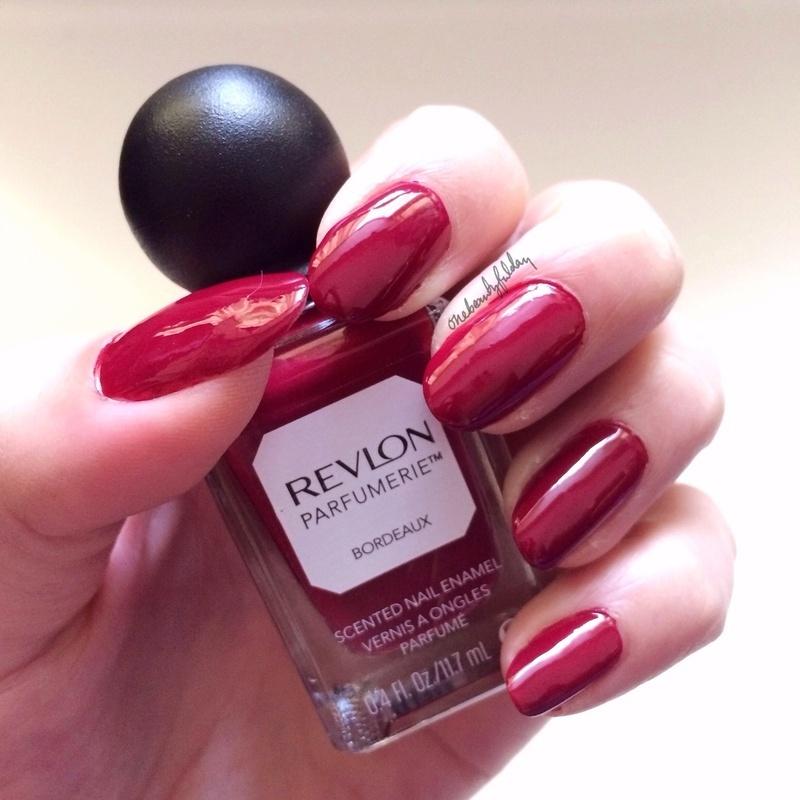 Revlon Parfumerie Bordeaux Swatch by onebeautyfulday