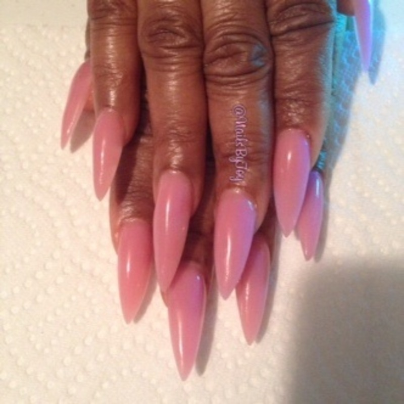 Natural Pinky nail art by Toy