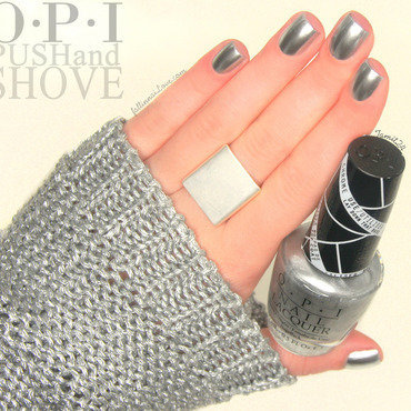 OPI Push and Shove Swatch by Paulina