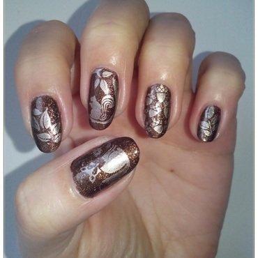 Nature nail art by Oana  Alexandru