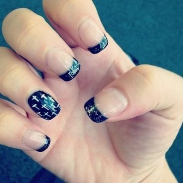 yeezus nail art by Vanessa Nesbitt
