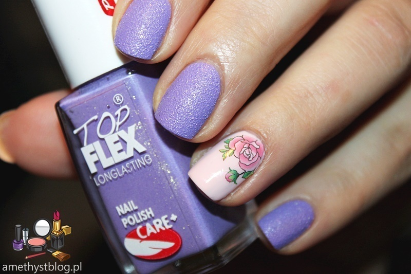 Around is Violet ! nail art by Amethyst