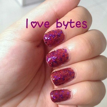 Pretty & Polished Love Bytes Swatch by JingTing Jaslynn
