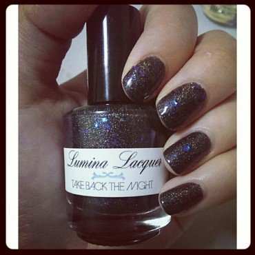 Lumina Lacquer Take Back The Night Swatch by JingTing Jaslynn