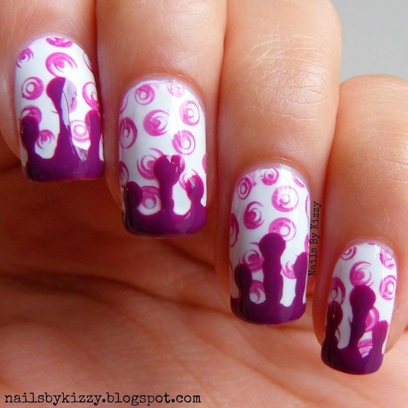 Jam Doughnuts! nail art by Kizzy