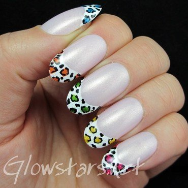 The riddles in the pages leave at too much to guess nail art by Vic 'Glowstars' Pires