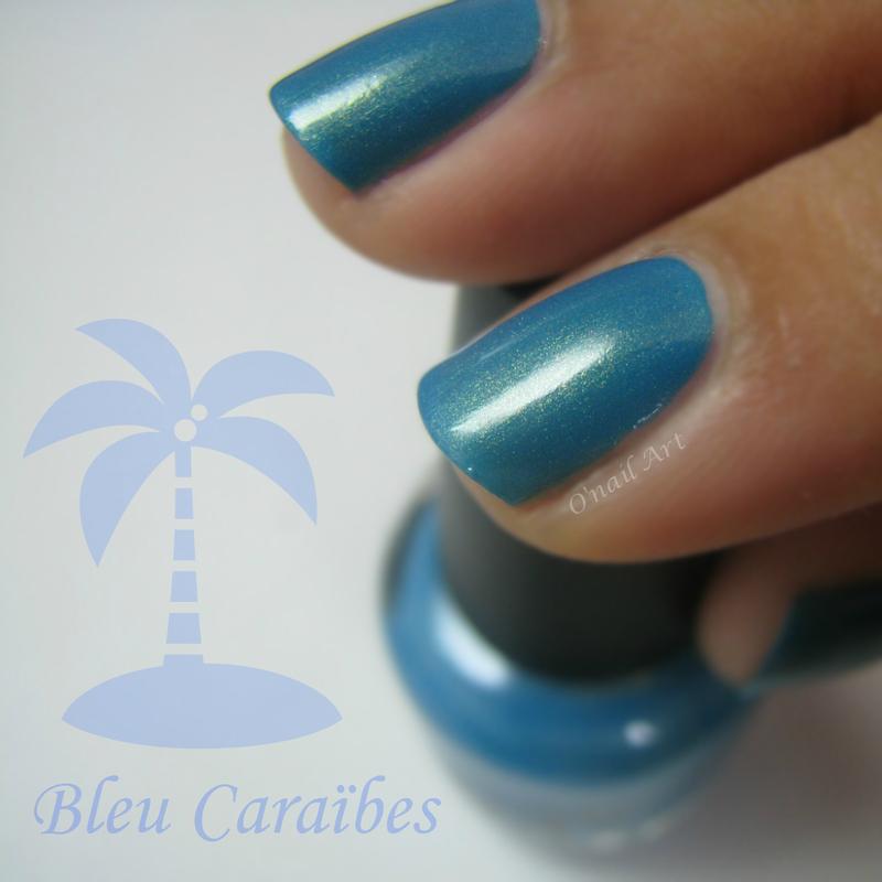LOL Bleu Caraïbes (In the deep) Swatch by OnailArt