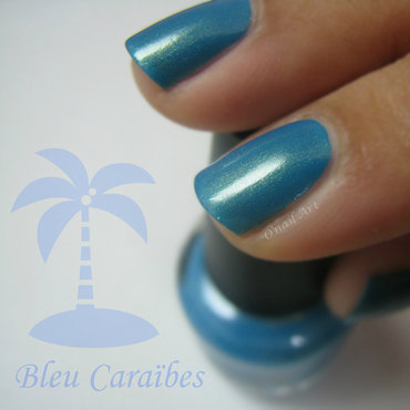 LOL Bleu Caraïbes (In the deep) Swatch by OnailArt