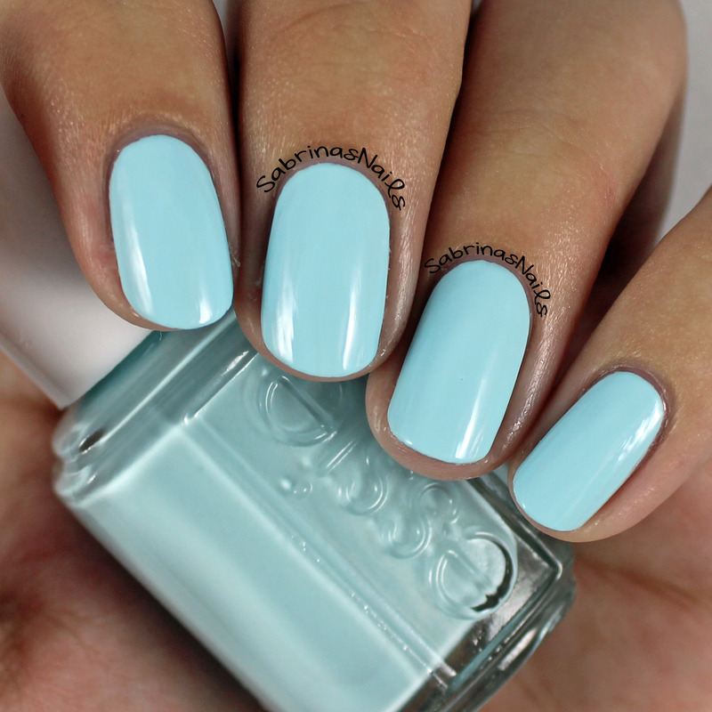 Essie Mint Candy Apple Swatch by Sabrina