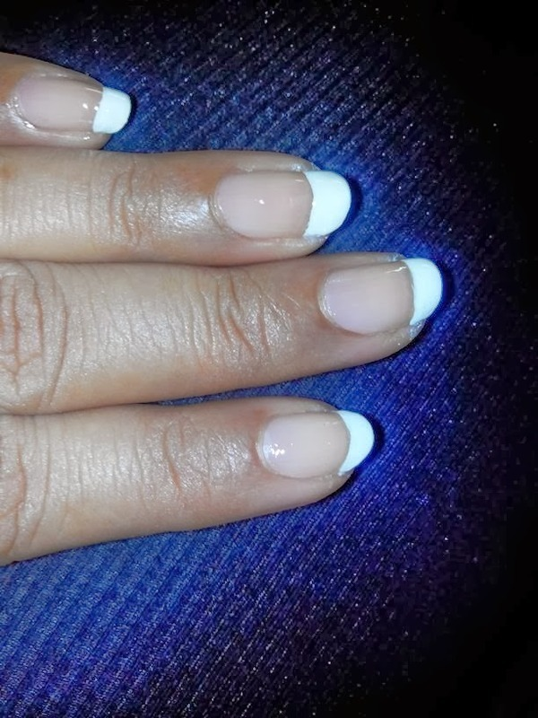 FRENCH MANICURE nail art by Nailfame