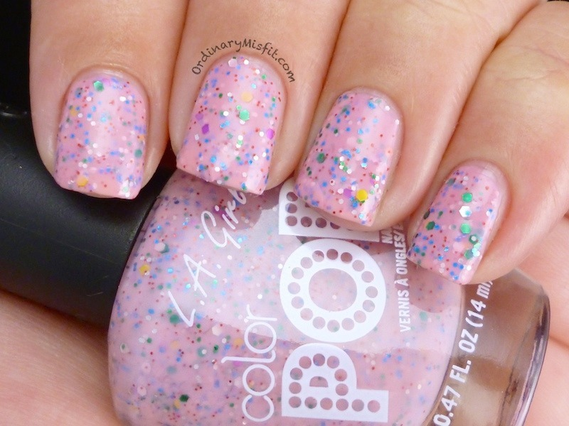 La Girl Birthday Cake Swatch By Michelle Nailpolis Museum Of