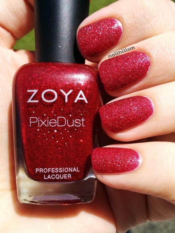 Zoya PixieDust Chyna Swatch by Harriet Lockett