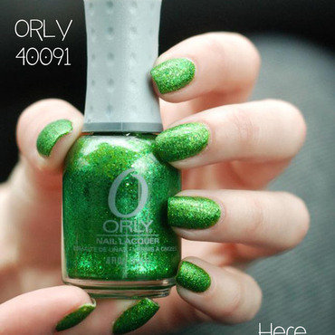 Orly Here Comes Trouble Swatch by B.