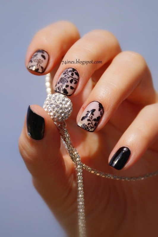 My Immortal nail art by 74ines