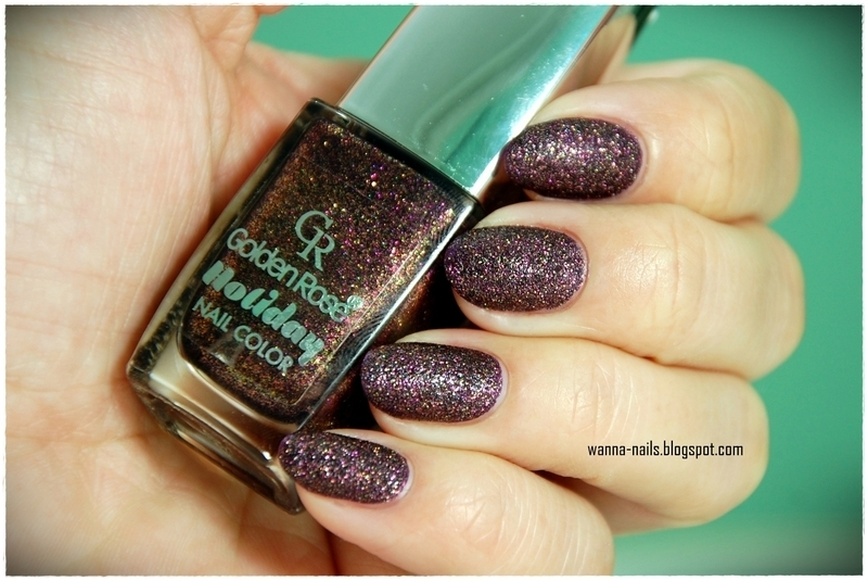 Golden Rose Holiday 58 Swatch by Oana Chiciu