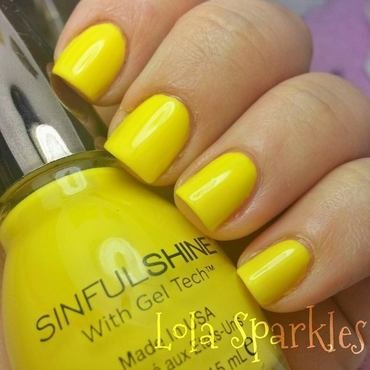Sinful Shine bananappeal Swatch by christy vasquez