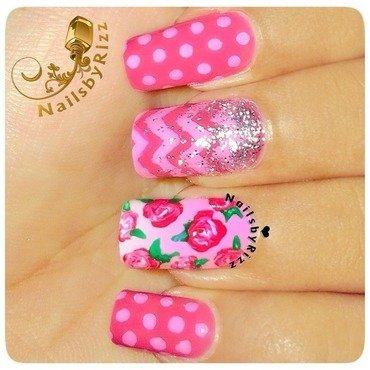MIX & MATCH nail art by Nailsbyrizz