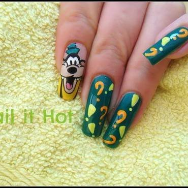 Goofy nail art by Nail_it_hot