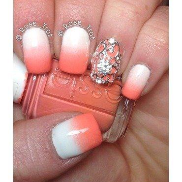 Nail shield  nail art by Rose_Trot