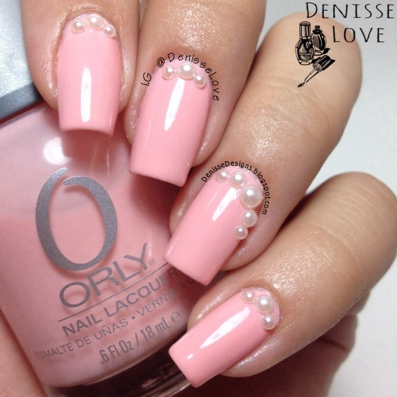 Orly Lift The Veil Swatch by Denisse Love