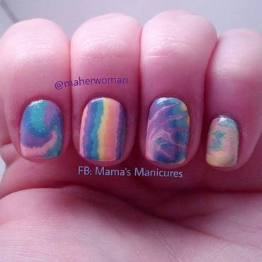 Ideas in Pastel nail art by Mama's Manicures (maherwoman)