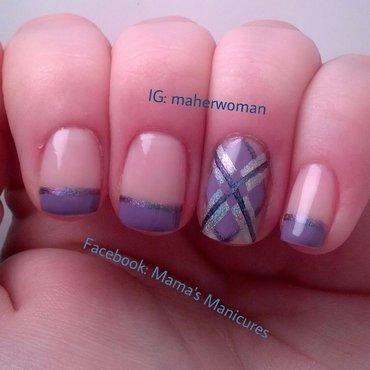 Argyll nails nail art by Mama's Manicures (maherwoman)