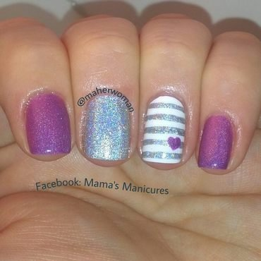 Amkuch15 Thermal nail art by Mama's Manicures (maherwoman)
