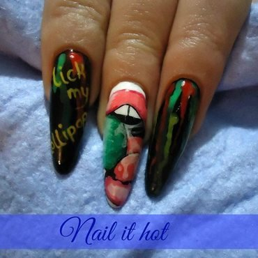 Lollipop nail art by Nail_it_hot