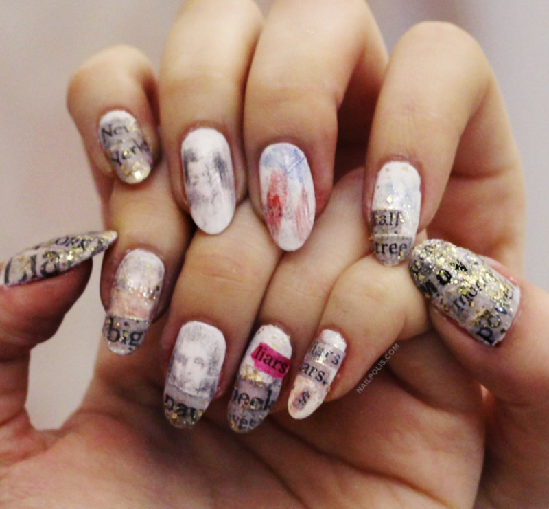 Money is the anthem nail art by michelle nailpolis museum of money is the anthem nail art by michelle prinsesfo Images