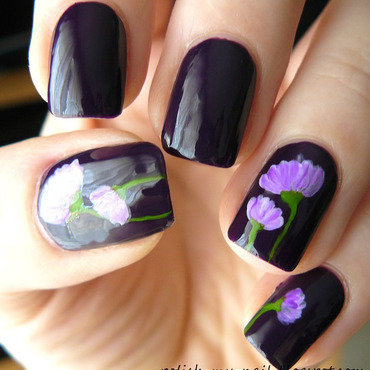 Andreia nr 99   acrylic paint flowers 3 thumb370f