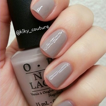 OPI Taupe-less beach Swatch by Ximena Echenique