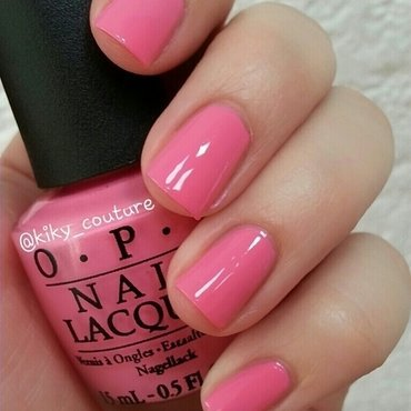 OPI Kiss Me I'm Brazilian Swatch by Ximena Echenique