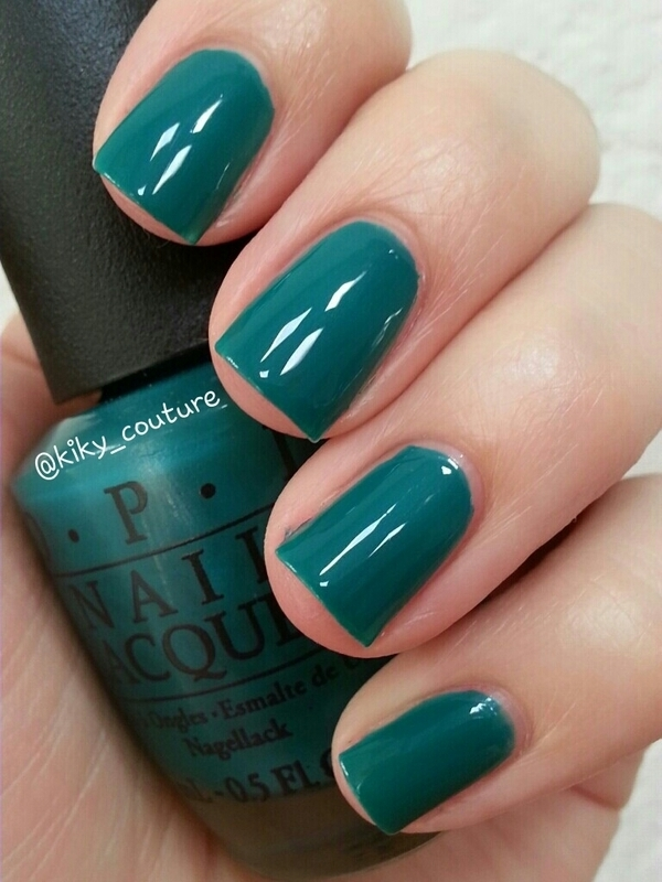 OPI AmazON...AmazOFF Swatch by Ximena Echenique