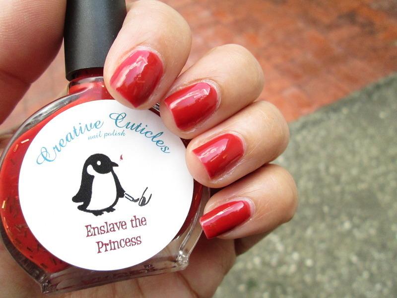 Creative Cuticles Nail Polish Enslave the Princess Swatch by Evy Rodrigues