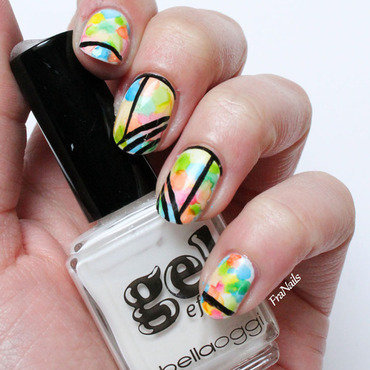 SmaltoPedia #4 nail art by Fran Nails