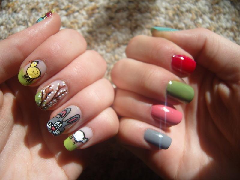 :) nail art by Lakierowniczka