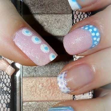 Candy nails nail art by Km.Lucy