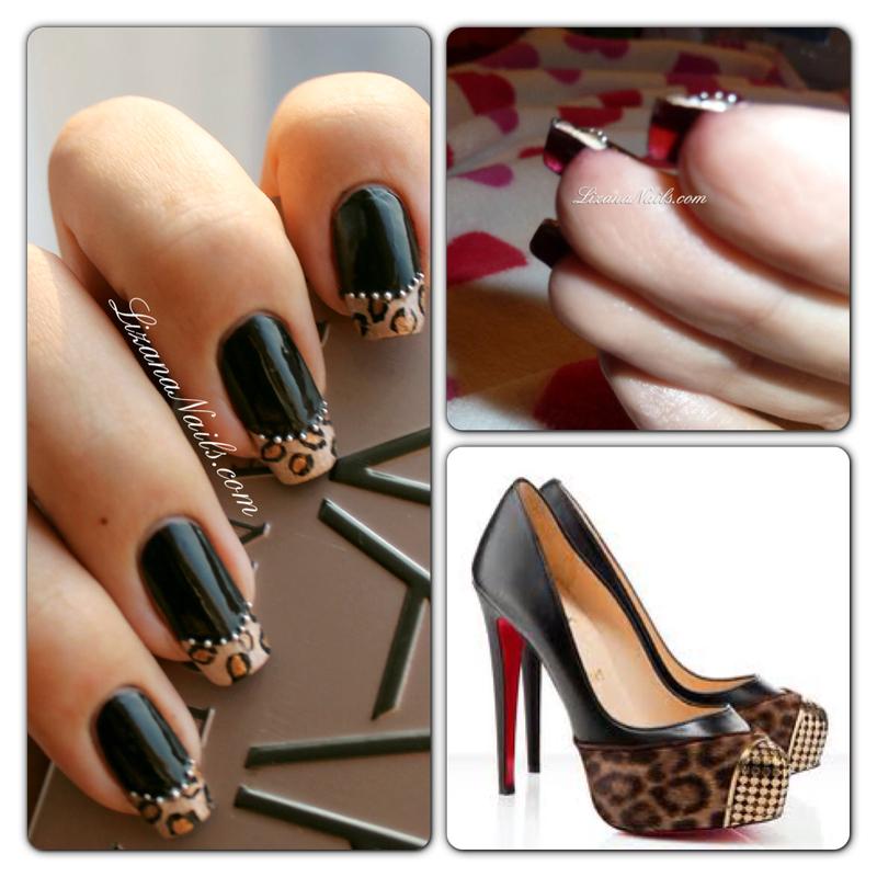 Louboutin Nails nail art by Lizana Nails - Nailpolis: Museum of Nail Art
