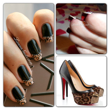 Louboutin Nails nail art by Lizana Nails