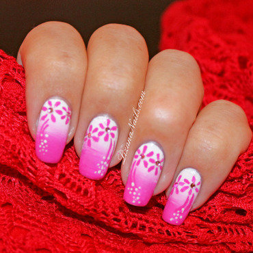 59   nail art girly   floral thumb370f