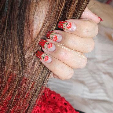 61   nail art coquelicot thumb370f