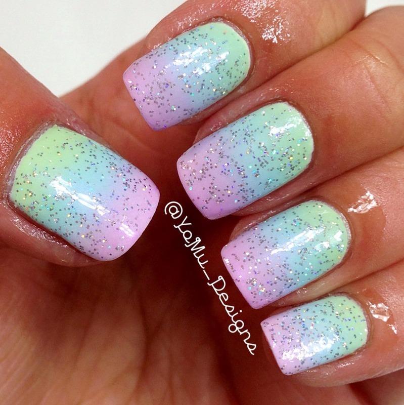 Pretty Pastel nail art by JMura_Designs