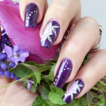 99   nail art one stroke floral thumb370f
