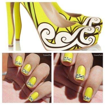 Escarpins nail art by Lizana Nails